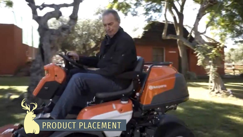 Product placement, Husqvarna – Mi Casa es la tuya