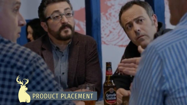 Product placement, Estrella Galicia – Allí abajo