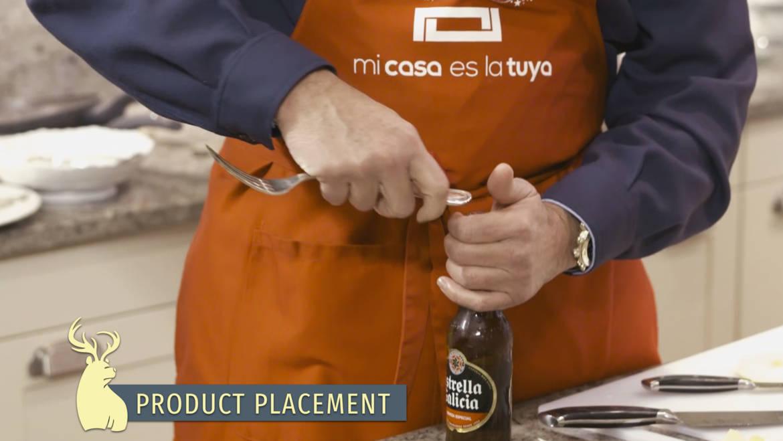 Product placement, Mi casa es la tuya – Estrella Galicia